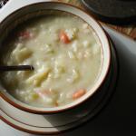 Potato Soup  (Gruumbier Suupe)
